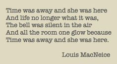 from 'meeting point' by louis macneice