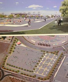Tinta Amarilla - 900 plazas de parking para la Ciudad Deportiva 7 Palmas