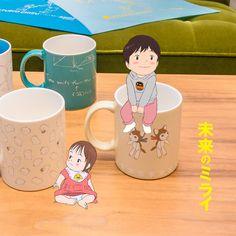 """スタジオ地図 on Instagram: """"LINE Cameraのアプリで『未来のミライ』スタンプが出ています!無料です!LINE Cameraの「ショップ」からダウンロードのできます!やり方は2枚目→から。 . #未来のミライ #mirai #mirainomirai #7月20日公開…"""" Mamoru Hosoda, Wolf Children, Hayao Miyazaki, Anime Films, Fairy Art, Studio Ghibli, Aesthetic Art, Fnaf, Concept Art"""
