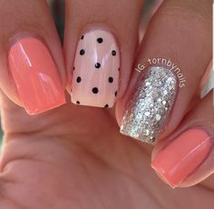 Pretty nails discovered by Roxy on We Heart It Glam Nails, Hot Nails, Nail Manicure, Beauty Nails, Fabulous Nails, Gorgeous Nails, Pretty Nails, Nagellack Trends, Nagel Gel