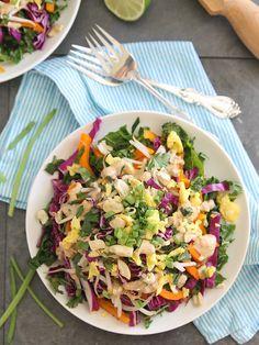 Pad Thai Salad | runningtothekitchen.com