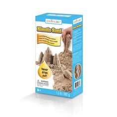 This is a great FUN item to play with but also a SWEET resource for active hands in the classroom! Yay! So glad to have found this! Forget the Thinking Putty! <div>It's more fun when it's wacky! Feel the difference with Kinetic Sand! Pack it, pull it, sha...