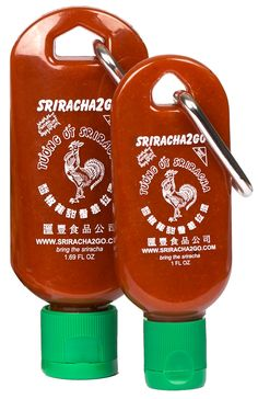 This would be an awesome addition to a care package. : ) and Need sriracha all day? Bring Need sriracha for one meal? Bring Whatever the situation, sriracha will be by your side! Burritos, Dandy, Just In Case, Just For You, Good Food, Yummy Food, Stocking Stuffers, The Best, Nom Nom