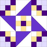 "Quilty Barátok: ""Circle of Quilty Friends"" BOM minták Star Quilt Blocks, Quilt Block Patterns, Pattern Blocks, Barn Quilt Designs, Quilting Designs, Quilting Tutorials, Quilting Projects, Painted Barn Quilts, Sampler Quilts"