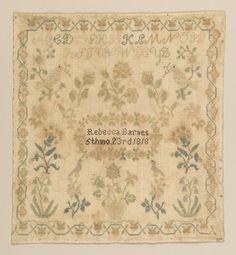 Sampler (USA), 1818