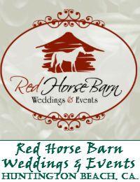 The Red Horse Barn Wedding Venue In Huntington Beach California - #weddingofficiant
