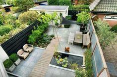 De onderhoudsvriendelijke tuin