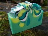 Handmade soaps - Pinapple....I'm in LOVE with the swirl!