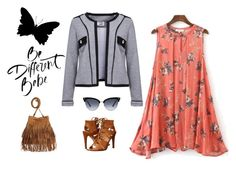 """""""Be Free Jacket - weekend"""" by zipit21 on Polyvore featuring moda, Dolce Vita, H&M i Gucci"""
