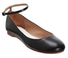 Ankle Strap Ballet Flat http://rstyle.me/n/ddc52prr6