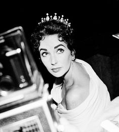 Elizabeth Taylor at the Cannes Film Festival, 1957