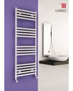 Find stylish curved towel rails for your bathroom heating. We stock curved ladder radiators in a wide range of brands, styles and finishes for all budgets. Electric Towel Rail, Electric Radiators, Towel Radiator, Designer Radiator, Heated Towel Rail, Shower Enclosure, Bathroom Interior Design, Shelves, Free Uk