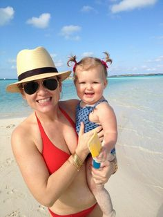 So cute! Jessica Capshaw and her daughter!