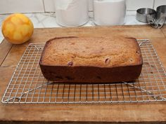 TESTED & PERFECTED RECIPE - Sweet, orange-scented and chock-full of cranberries and walnuts, this cranberry nut bread is perfect for the holidays. Cranberry Nut Bread, Cranberry Bread, Distilled White Vinegar, Oven Racks, Melted Butter, Pecan, Baking Soda, Orange