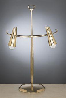 Max Ingrand Table Lamp for Fontana Arte, 1957 @Jon Luckett via @emily henderson . @Christies auction sale. #vintage #design #lighting