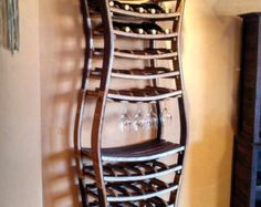 WINE RACK Chablis Large Wine Barrel Rack by winecountrycraftsman