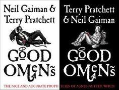 "Rebecca's Pick: Good Omens by Neil Gaiman and Terry Pratchett. ""Hilarious audiobook."""