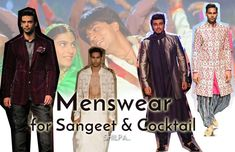 Indian Wedding Dresses for Men: From Sangeet To Cocktail Party Discover the latest Indian wedding dresses for men from sherwanis to bundhgala for sangeet, cocktail and get ideas for designer grooms-wear!  #indianfashion #indianwear #mensfashion #mensindianfashion #mensindianwear #weddingfashion #menstyle