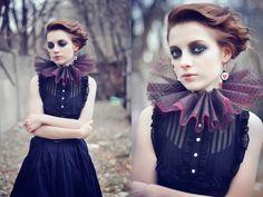 A cute haunted doll look