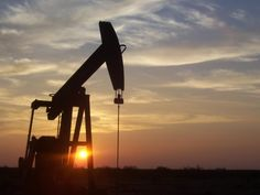 West Texas Pumpjack at Sunset