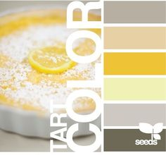 gray and yellow palette Colour Pallette, Color Palate, Colour Schemes, Color Combos, Paint Schemes, Design Seeds, Colour Board, Kitchen Colors, Nice Kitchen