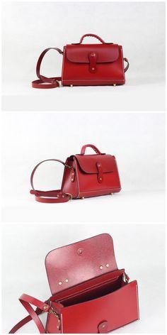 Handmade Full Grain Leather Handbag Leather Cross body Designer Bag