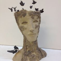 Head Planters – Cookie Scottorn Ceramics