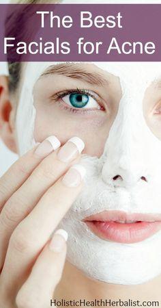 The Best Facials for Acne http://www.holistichealthherbalist.com/best-facials-acne/