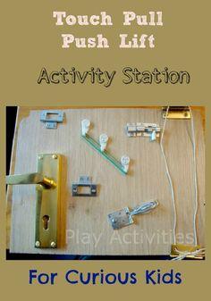 31 Days Of Sensory Play {Day Twenty Five} Homemade Activity Station | Play Activities