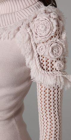 Outstanding Crochet: Designer: Temperley London