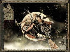 Immagini gif animate glitter befana ed epifania
