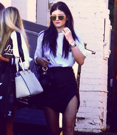 Kylie Jenner - need this skirt