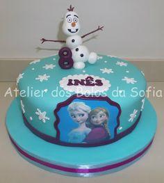 Atelier dos Bolos da Sofia: Frozen