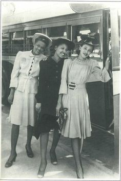 On the town in style.... Houston 1940
