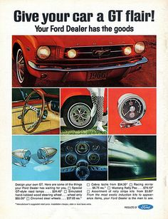 1966 Ford Mustang Accessories