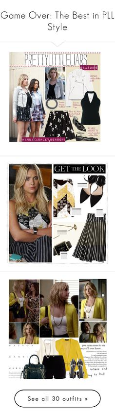 """""""Game Over: The Best in PLL Style"""" by polyvore-editorial ❤ liked on Polyvore featuring PrettyLittleLiars, PLLGameOver, Episode, Marc by Marc Jacobs, MANGO, Carven, Venessa Arizaga, Daniele Michetti, GetTheLook and pll"""