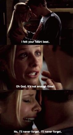 Buffy and Angel... Damn you Joss Whedon!!!!!
