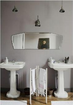 Design Sleuth: Horizontal Bath Mirror : Remodelista