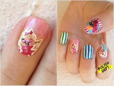 Candy Crush Nail Art | Community Post: 12 Delicious Crafts Inspired By Candy Crush Saga