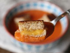 grilled cheese crouton