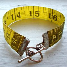 Upcycle: Measuring Tape - Cut The Craft
