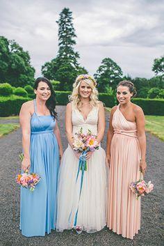 two birds bridesmaids dresses | www.onefabday.com