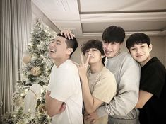 """Park Seo Joon posted a picture with the Wooga squad wishing everyone """"Merry Christmas"""" BTS X Christmas Park Hyung Sik, Foto Bts, Asian Actors, Korean Actors, Korean Dramas, Korean Celebrities, Celebs, Park Seo Jun, V Bts Wallpaper"""