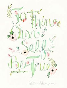 To Thine Own Self Be True ✿⊱╮ by VoyageVisuelle