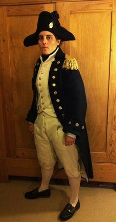 Royal Navy captain's undress uniform of around 1805