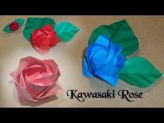 Origami Kawasaki Rose by Toshikazu Kawasaki GOOD INSTRUCTIONS