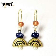 Buy Idiort's Specially Designed Handmade Terracotta Earring Collection