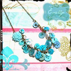 Evally: Evally Jewelry Button Necklace