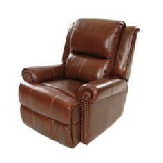 Sears Recliner Chair Covers Rocker Simmons -baron Leather   Furniture Pinterest And Rockers