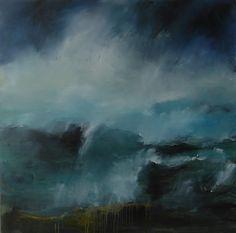 "Saatchi Online Artist: Hrafnhildur Inga Sigurdardottir; Oil, Painting ""Dash of breakes"""